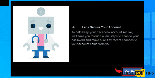 Follow Steps to Secure Facebook Account