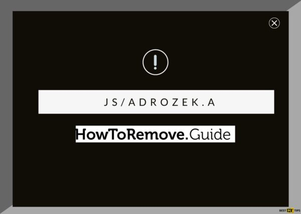 How to remove JS/androzek.a virus