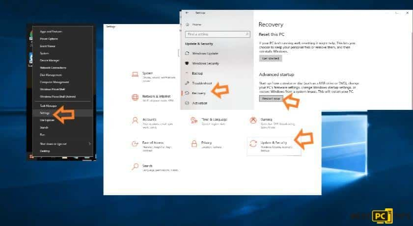 safe mode windows recovery