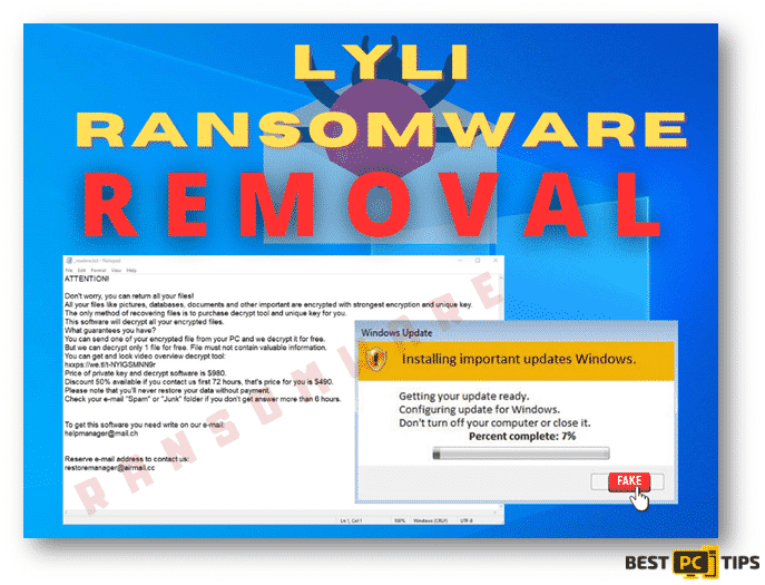 Lyli Ransomware Removal