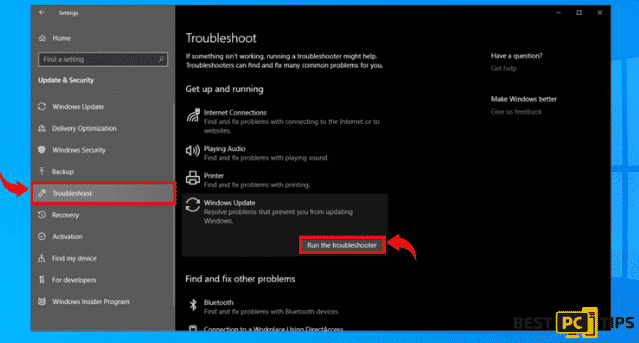 Windows Troubleshooter