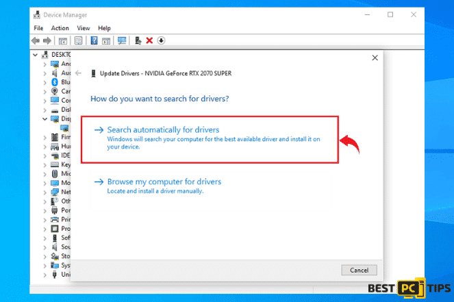 Search Drivers Automatically