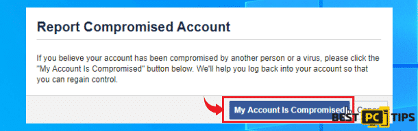 Report Compromised Account