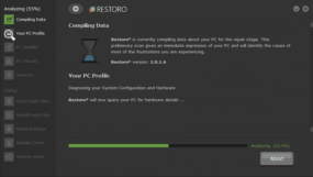 restoro PC scan