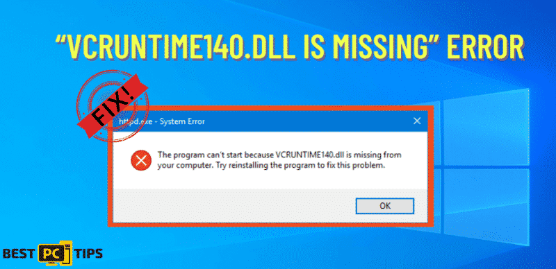 vcruntime.dll missing