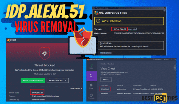 Idp.Alexa.51 Virus Removal Guide