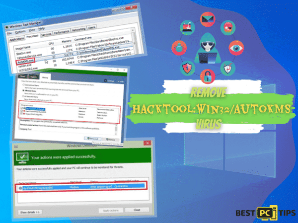 HackTool:win32/autoKMS Removal Guide