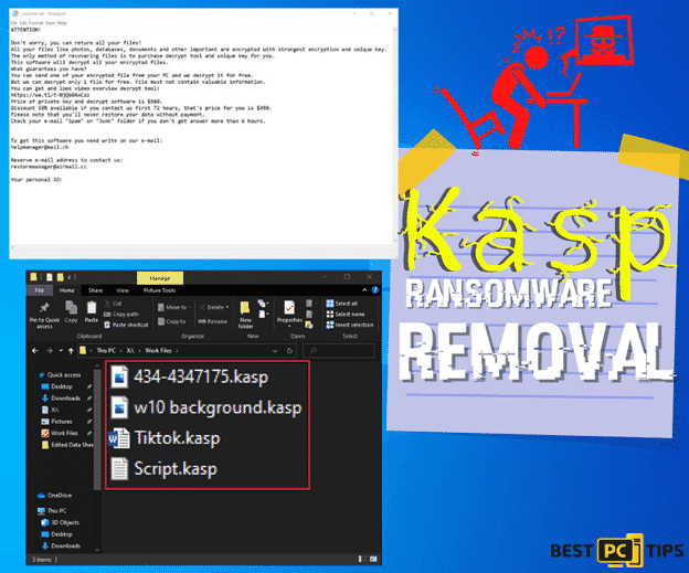 Kasp Ransomware Removal and Data Recovery Guide