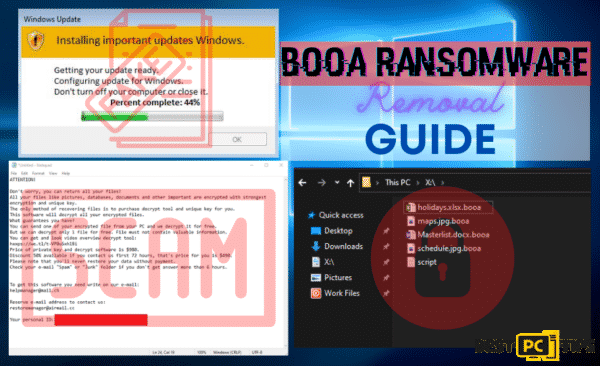 Booa Ransomware Removal Guide