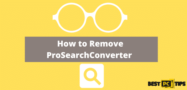 How to Remove ProSearchConverter