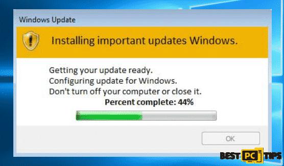Fake Windows Update