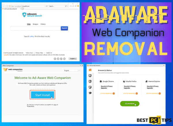 Adaware Web Companion Removal Guide
