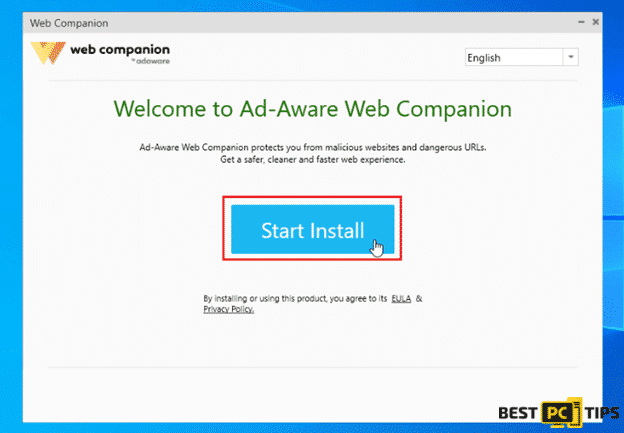 Web Companion Installation