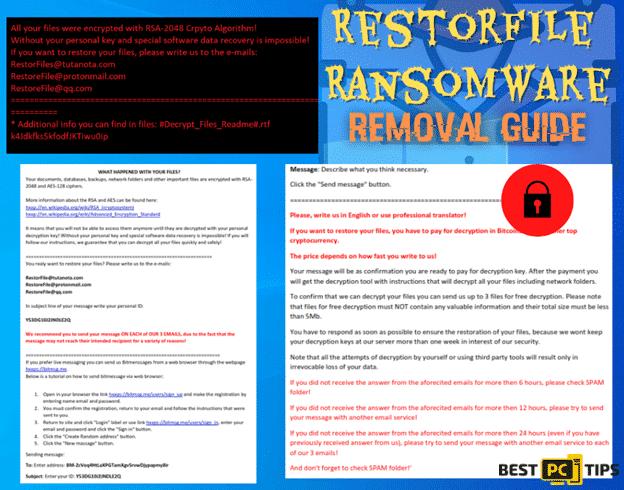 RestorFile Ransomware Removal Guide