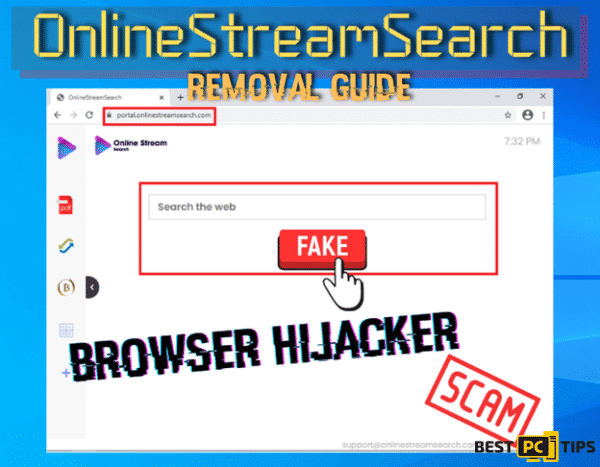 OnlineStreamSearch Removal Guide