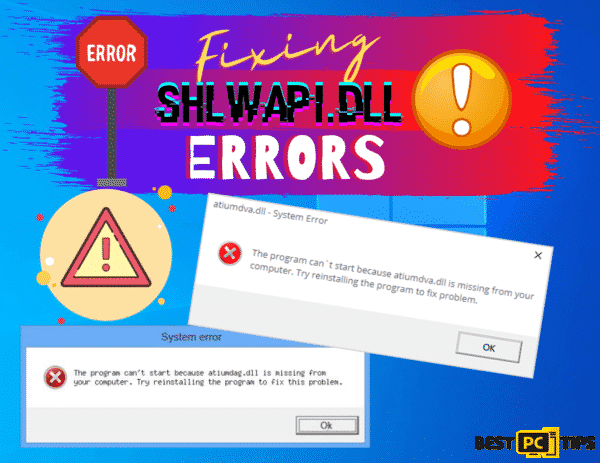 Fixing Shlwapi.dll Errors