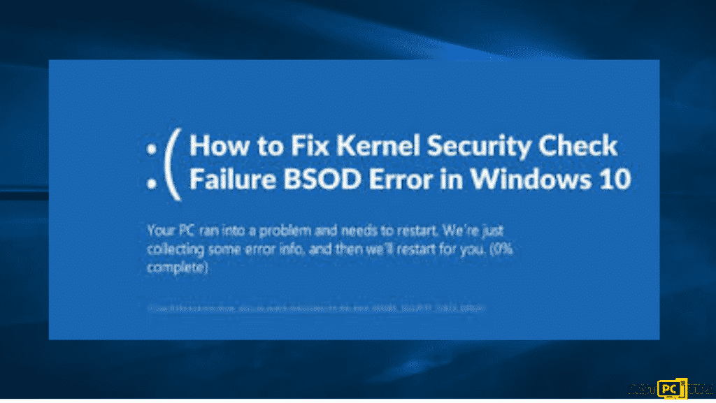 Kernel BSOD error