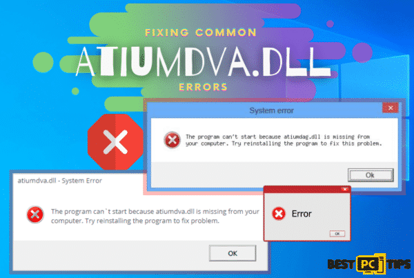 Fixing Common Atiumdva.DLL Errors