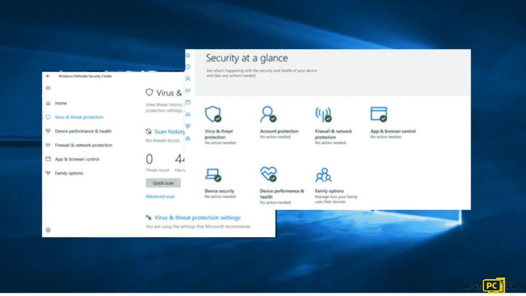 security at glance
