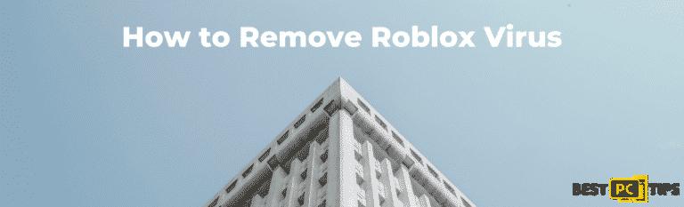 Roblox Virus Removal