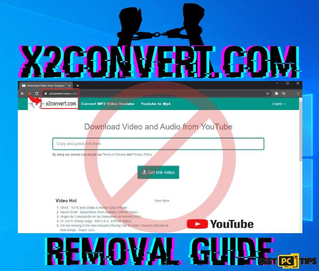 X2convert.com Removal Guide