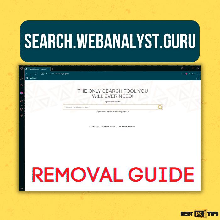 Search.webanalyst.guru Removal Guide