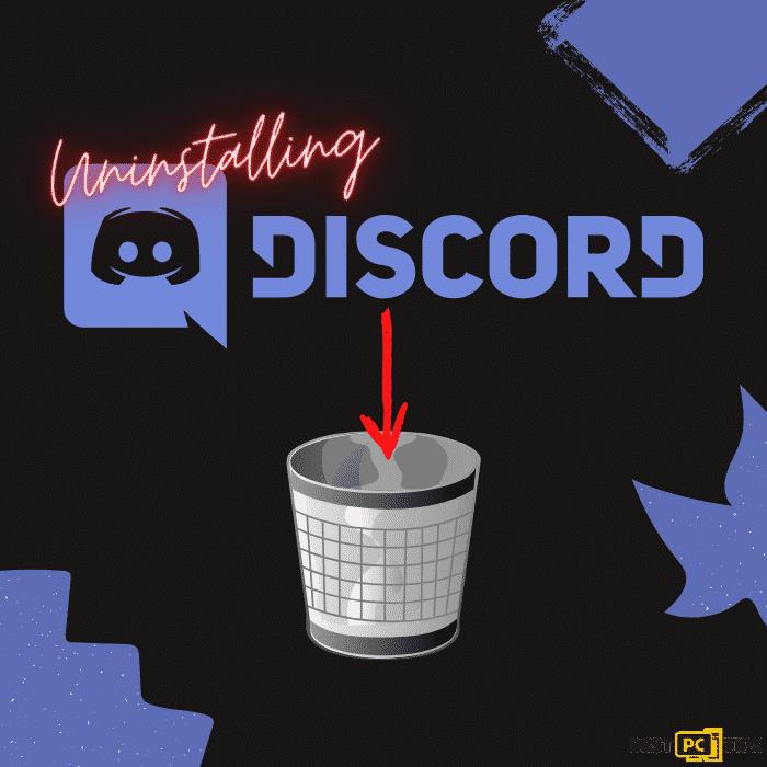 Uninstalling Discord