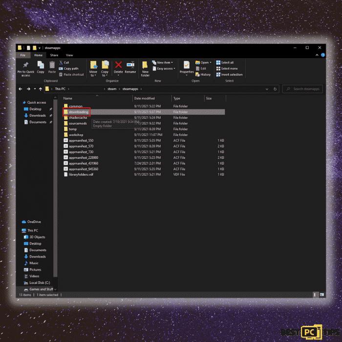 Downloading Folder