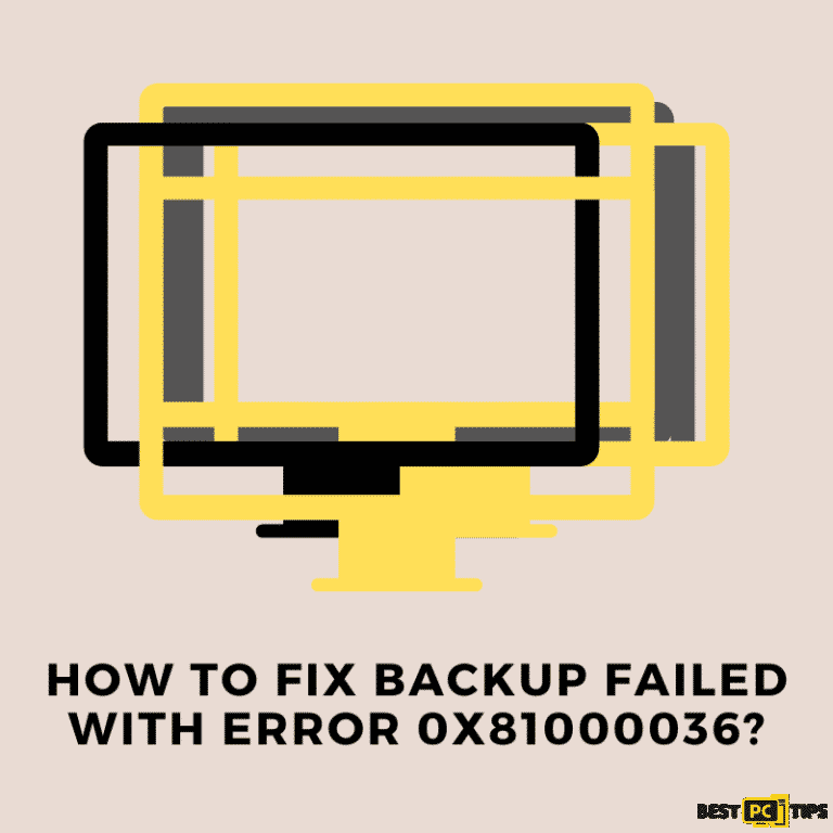 How to fix the backup failed error Windows quick guide