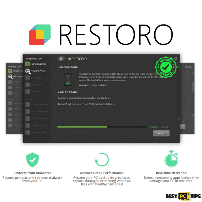 Restoro Features